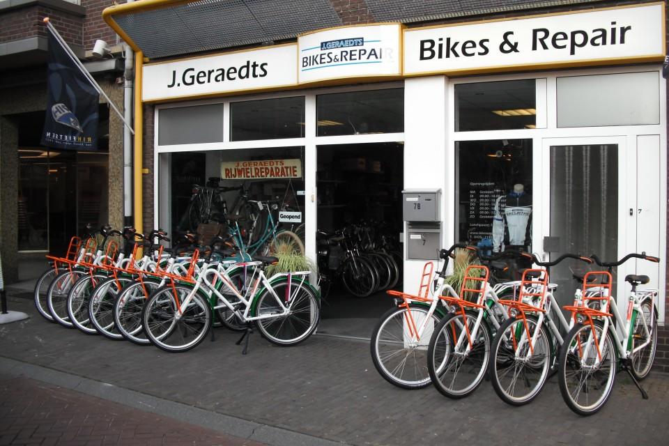 J Geraedts Bikes Repair Uw Fietsenzaak In Swalmen